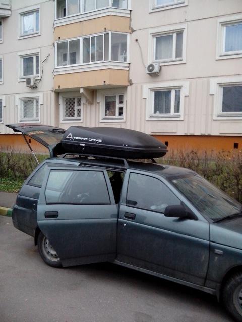 Багажник на крышу автомобиля своими руками на ваз 2110
