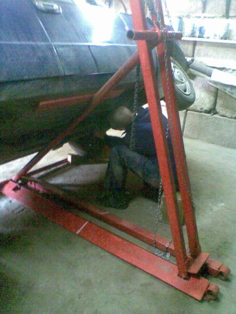 Опрокидыватель автомобиля - Самодельные