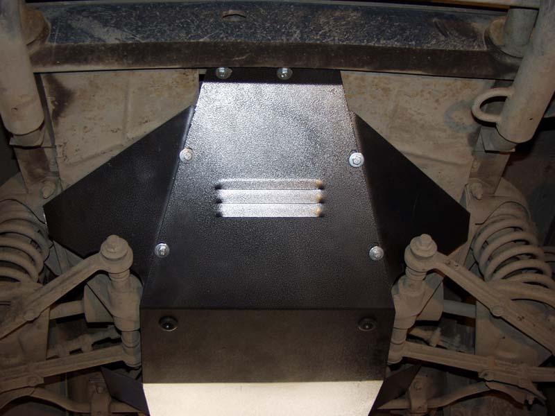 Защита двигателя 2121 своими руками 10