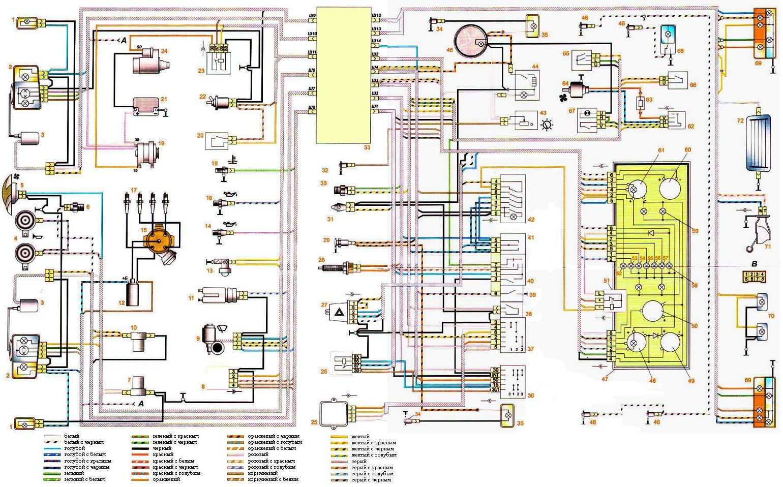 Схема инжектора ваз 21074 фото 993
